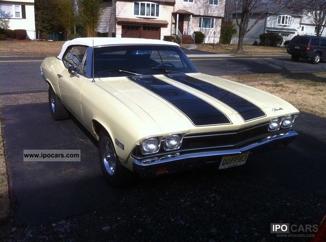 Chevrolet  Chevelle Convertible 1968 Vintage, Classic and Old Cars photo