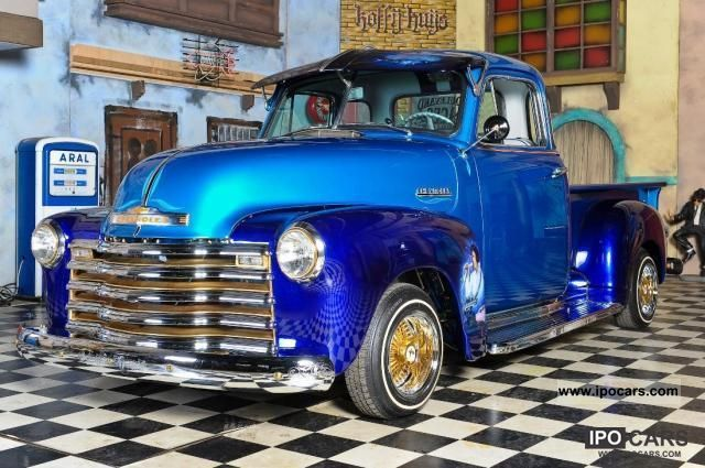 Chevrolet  Custom Lowrider Truck Hotrod Show 2500 1951 Vintage, Classic and Old Cars photo