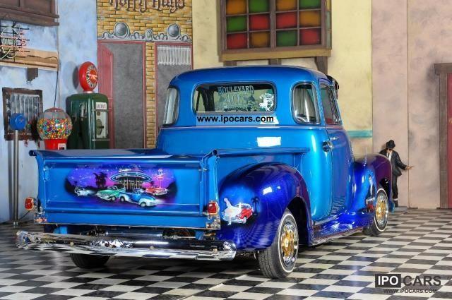 1951 Chevrolet Custom Lowrider Truck Hotrod Show 2500