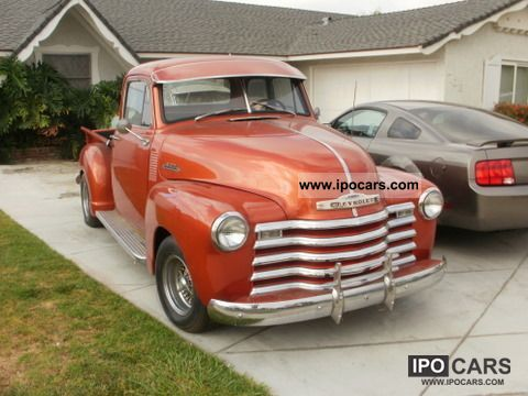 Chevrolet  BEAUTIFUL IS NOT 3100 1953 Vintage, Classic and Old Cars photo