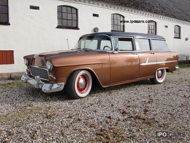 Chevrolet  Bel Air 1955 Vintage, Classic and Old Cars photo
