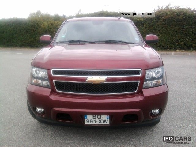 Chevrolet  SUBURBAN 5.3 L -8 places bioethanol 0.85 € / liter 2008 Ethanol (Flex Fuel FFV, E85) Cars photo
