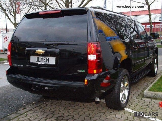 2012 Chevrolet Suburban Lt Black Long Version Car Photo