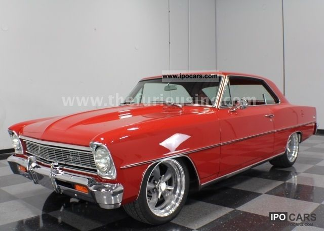 1966 Chevrolet  Nova Pro Touring, 550hp, GREAT CONDI & PERFECT PRICE Sports car/Coupe Classic Vehicle photo