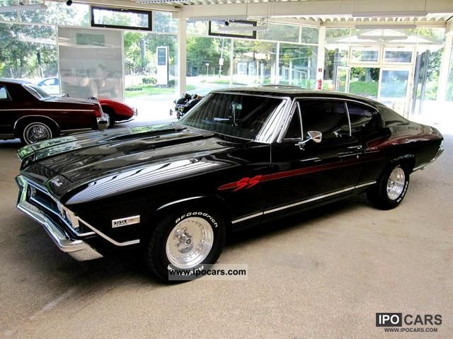 1968 Chevrolet Malibu Ss 396 Sports Car Coupe