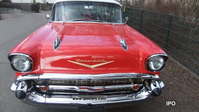 Chevrolet  Bel Air 1957 Vintage, Classic and Old Cars photo