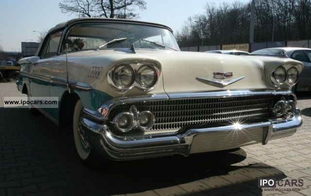 Chevrolet  Impala Convertible 1958 Vintage, Classic and Old Cars photo