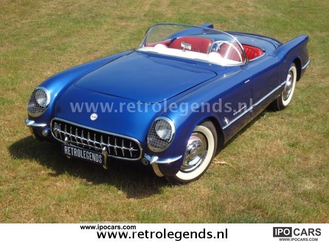Chevrolet  Corvette E2934 1954 Vintage, Classic and Old Cars photo