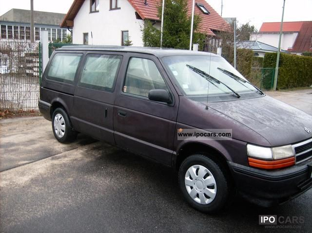 Chrysler Grand Voyager Se Automatic Lgw on 1994 Dodge Grand Caravan