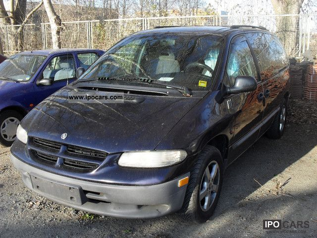 1999 chrysler grand voyager 2 4 se car photo and specs. Black Bedroom Furniture Sets. Home Design Ideas
