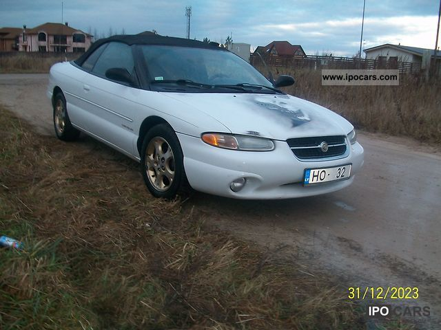 1998 Chrysler  Sebring Cabrio / roadster Used vehicle photo