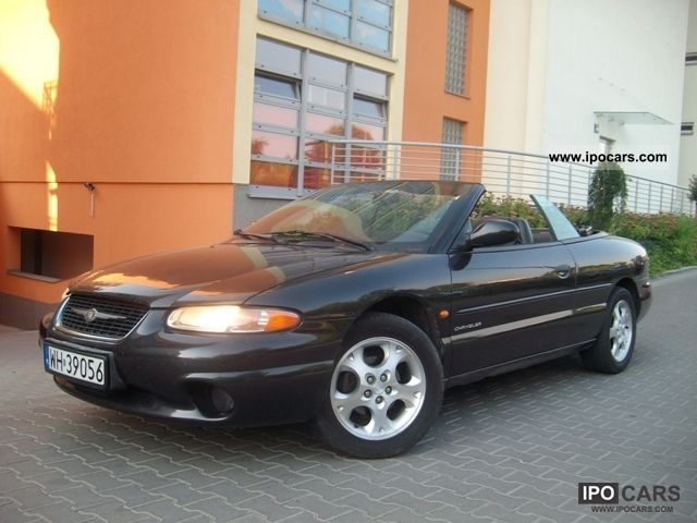 1999 chrysler stratus convertible skora pi kny car photo and specs. Black Bedroom Furniture Sets. Home Design Ideas