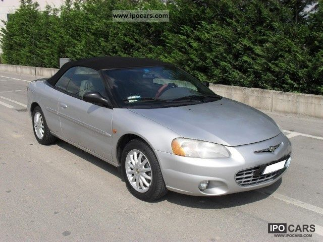 2001 Chrysler  Sebring Cabrio 2.7 V6 203CV 24V LX AUTOMATICA Cabrio / roadster Used vehicle photo