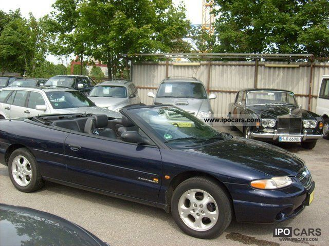 1999 chrysler stratus convertible lx 2 0 car photo and specs. Black Bedroom Furniture Sets. Home Design Ideas
