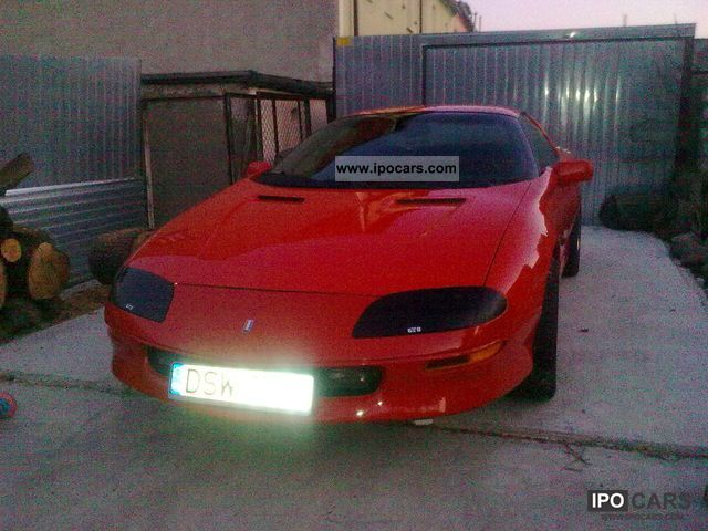 2004 Chrysler  1996 CHEVROLET CAMARO 3.8 V6 MEAN RED Sports car/Coupe Used vehicle photo