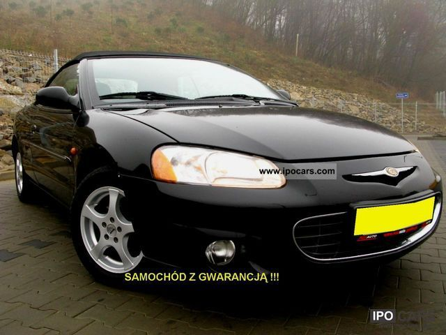 2003 Chrysler  Sebring LX CONVERTIBLE Cabrio / roadster Used vehicle photo