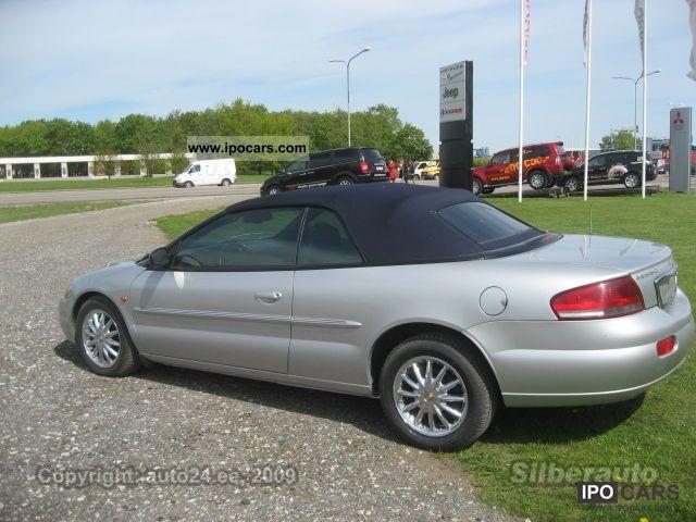 2003 chrysler sebring convertible 7 2 limited car photo. Black Bedroom Furniture Sets. Home Design Ideas