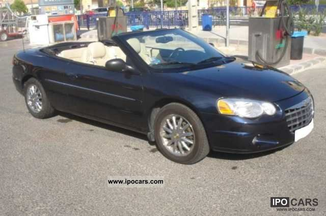 2003 chrysler sebring car photo and specs. Black Bedroom Furniture Sets. Home Design Ideas