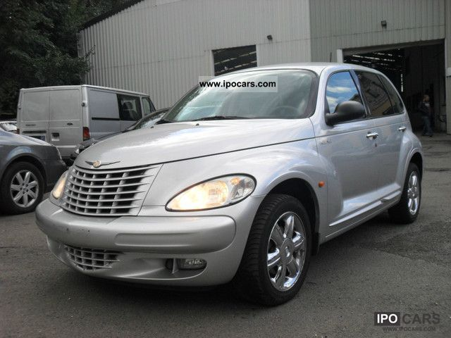 2006 chrysler pt cruiser 2 2 crd limited navi leather. Black Bedroom Furniture Sets. Home Design Ideas