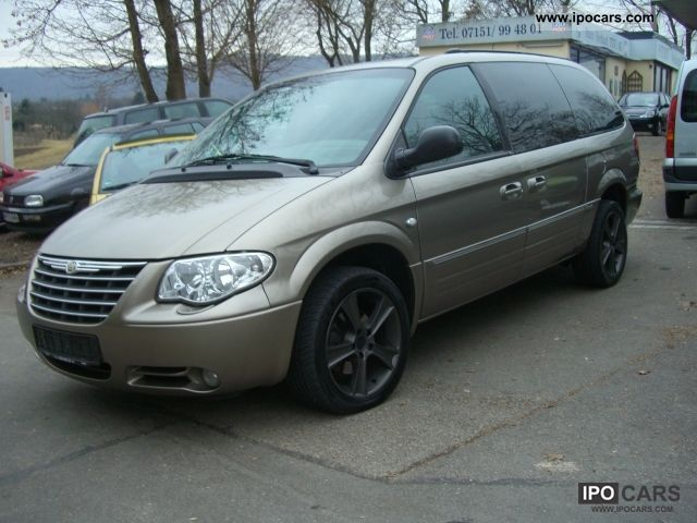 2005 chrysler grand voyager 2 8 crd limited automatic full scale car photo and specs. Black Bedroom Furniture Sets. Home Design Ideas