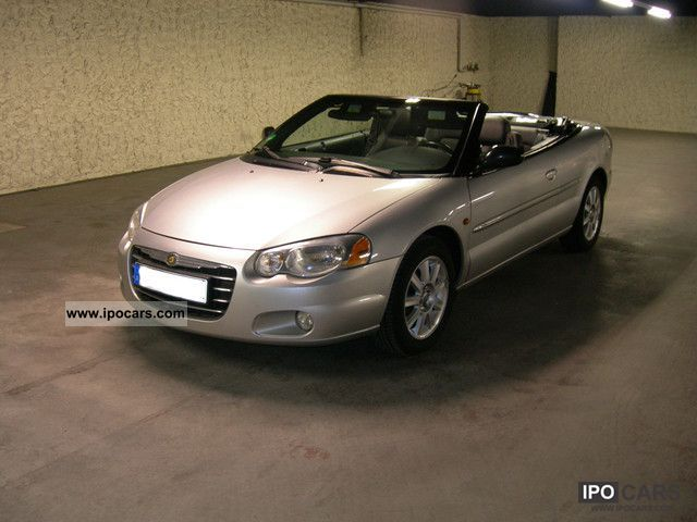 2005 chrysler sebring convertible lx 2 0 car photo and specs. Black Bedroom Furniture Sets. Home Design Ideas