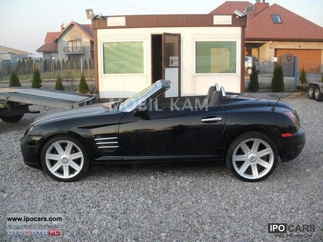 2005 Chrysler  Crossfire Cabrio / roadster Used vehicle photo