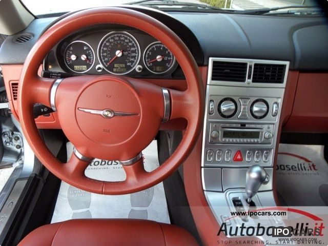 2004 Chrysler Crossfire 3 2i Coupe Sports Car Used Vehicle Photo