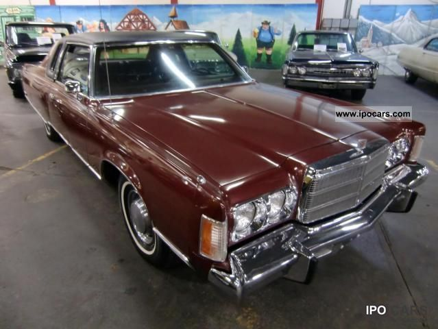 Chrysler  New Yorker Brougham 2D Hardtop 1975 Vintage, Classic and Old Cars photo