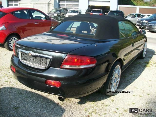 2005 chrysler sebring convertible 7 2 limited car photo and specs. Black Bedroom Furniture Sets. Home Design Ideas
