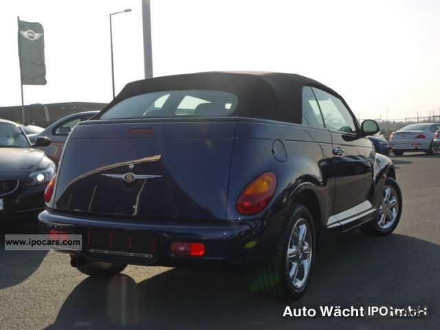 2006 Chrysler  PT Cruiser Convertible Leather SITZH. AIR CRUISE CONTROL Cabrio / roadster Used vehicle photo
