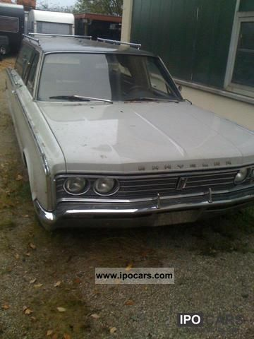 1966 Chrysler  combined / mortician Estate Car Used vehicle photo