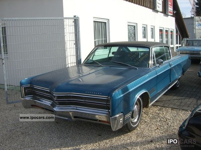 1968 Chrysler  300C hardtop V8 440 CID BBL H-plates Sports car/Coupe Classic Vehicle photo