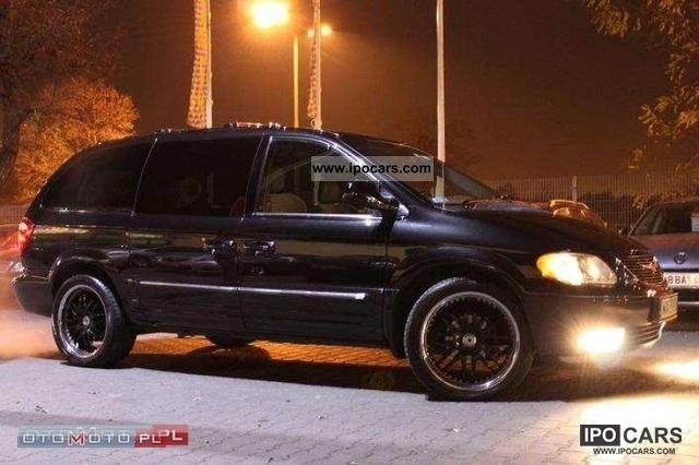 2004 Chrysler  Town & Country LIMITED GAZ SEKW. DVD SKORA Van / Minibus Used vehicle photo
