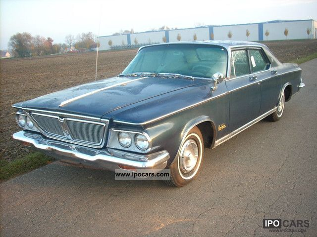 Chrysler  New York 25 353 miles V8. Good Originalzustan 1964 Vintage, Classic and Old Cars photo