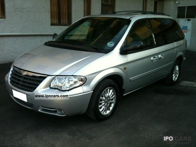2008 chrysler grand voyager 2 8 crd lx automatico car photo and specs. Black Bedroom Furniture Sets. Home Design Ideas