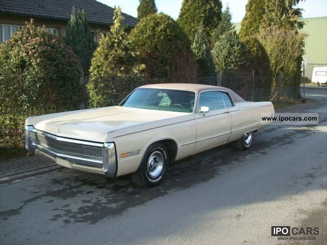 Chrysler  Imperial LeBaron Coupe 2-dr HT 1972 Vintage, Classic and Old Cars photo