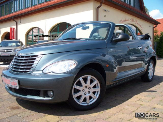 2008 chrysler pt cruiser cabrio 2 4 car photo and specs. Black Bedroom Furniture Sets. Home Design Ideas