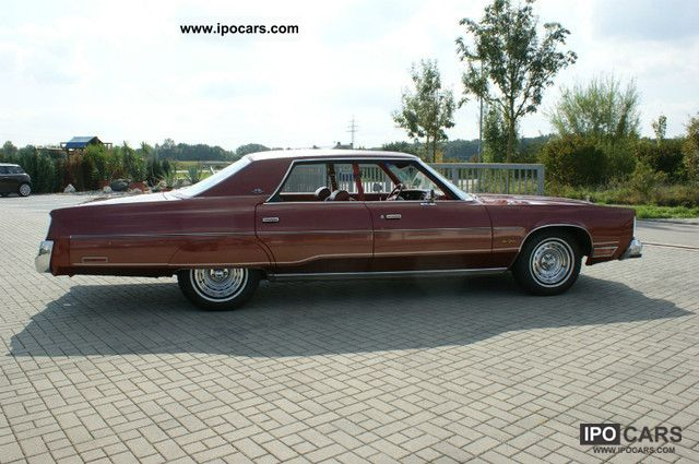 1978 Chrysler New Yorker Brougham Car Photo And Specs