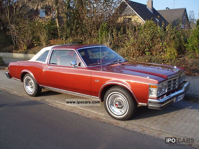 Chrysler  Le Baron Medallion V-8 1977 Vintage, Classic and Old Cars photo