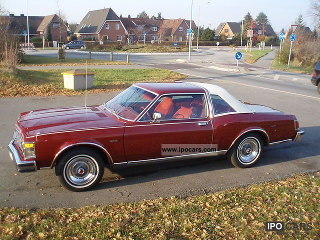 1977 Chrysler Le Baron Medallion V 8 Sports Car Coupe Used Vehicle Photo