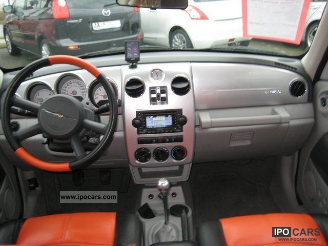 2008 chrysler pt cruiser 2 2 crd limited leather navi car photo and specs. Black Bedroom Furniture Sets. Home Design Ideas
