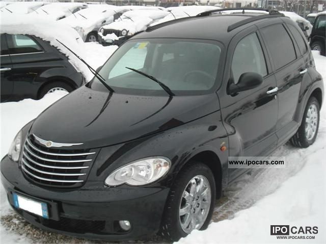 2008 chrysler pt cruiser 2 2 crd limited 150 cv car. Black Bedroom Furniture Sets. Home Design Ideas