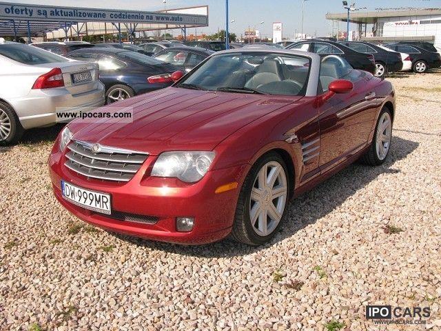 2007 Chrysler  Crossfire IDEALNY STAN! MINIMALNY PRZEBIEG! Cabrio / roadster Used vehicle photo