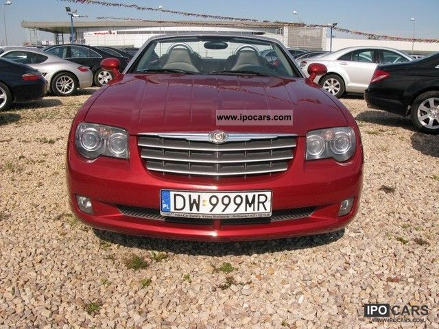 2007 chrysler crossfire idealny stan minimalny przebieg car photo and specs. Black Bedroom Furniture Sets. Home Design Ideas