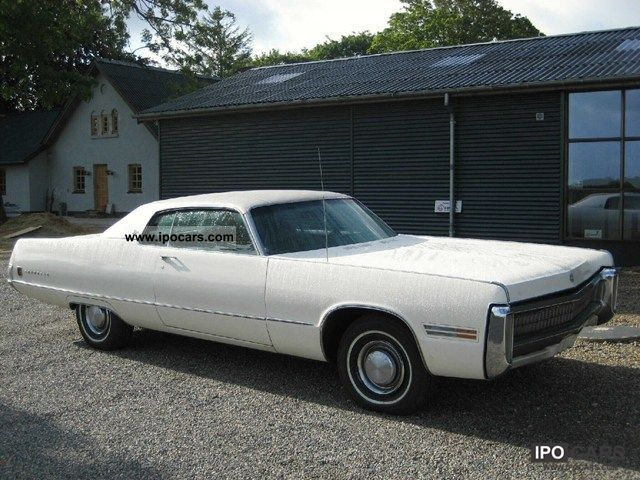 Chrysler  Imperial Le Baron 7.2 Hard Top aut 1972 Vintage, Classic and Old Cars photo