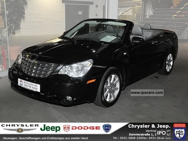 2008 Chrysler  Sebring Convertible 2.8 Limited Navi Leather Case Cabrio / roadster Used vehicle photo
