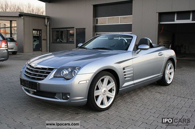 2007 chrysler crossfire auto air navi leather car photo and specs. Black Bedroom Furniture Sets. Home Design Ideas