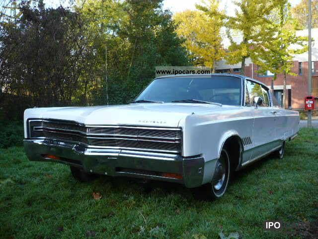 Chrysler  300 Three Hundred 440 vintage cars with H-approval 1968 Vintage, Classic and Old Cars photo