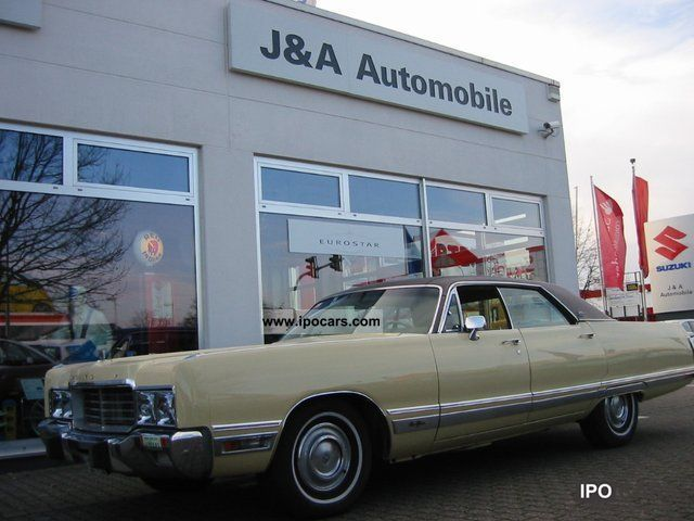 Chrysler  New Yorker Brougham 1973 1973 Vintage, Classic and Old Cars photo
