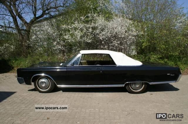 Chrysler  Newport Convertible 1967 1967 Vintage, Classic and Old Cars photo